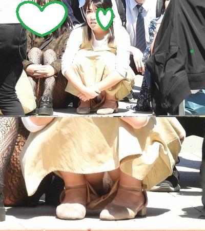[YUKI]新作です!!(FHD)大変です!!大道芸に夢中になり、パンツが見えてますよ205